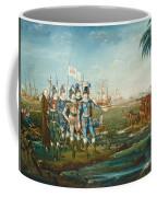 First Landing Of Christopher Columbus Coffee Mug