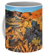 First Light On Valley Of Fire State Park Coffee Mug