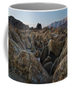 First Light Over Alabama Hills California Coffee Mug
