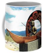 First Nation Sculpture Coffee Mug