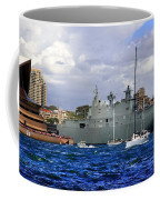 First Peak At Australia's Newest Warship Coffee Mug