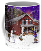 First Snow At The South Woodstock Country Store Coffee Mug