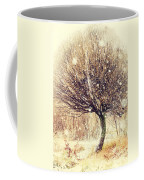 First Snow. Snow Flakes Coffee Mug