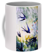 First Swallows Of Summer  Coffee Mug