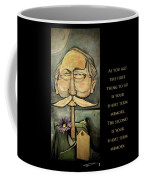 First Thing To Go - Poster Coffee Mug