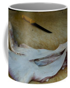 Fish And Knife On A Cutting Board Coffee Mug