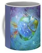 Fish Blue Coffee Mug