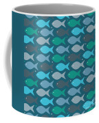 Fish Blue  Coffee Mug