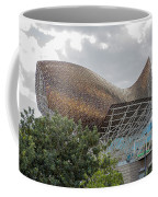 Fish By Frank Owen Gehry - Olympic Village - Barcelona Spain Coffee Mug