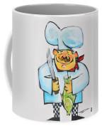 Fish Chef Coffee Mug