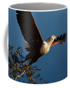 Fish Eagle Taking Flight Coffee Mug