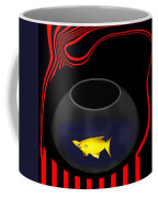 Fish In A Bowl Coffee Mug