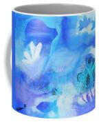 Fish In Blue Coffee Mug