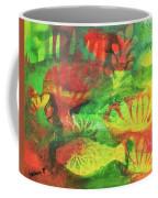 Fish In Green Coffee Mug