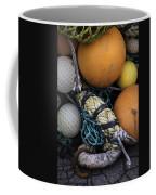 Fish Netting And Floats 0129 Coffee Mug