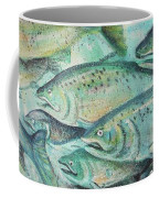 Fish On The Wall Coffee Mug