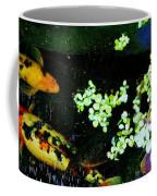 Fish Water Flowers 3 Coffee Mug