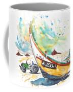 Fisherboat In Praia De Mira Coffee Mug