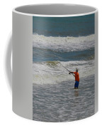 Fisherman And The Sea Coffee Mug