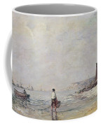 Fisherman In Villerville Coffee Mug