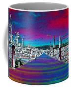 Fishermans Terminal Pier Coffee Mug