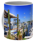 Fishermans Village Marina Fl Coffee Mug