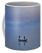 Fishermen At Dawn Coffee Mug