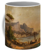 Fishermen At The Bay Coffee Mug