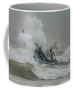 Fishers On Small Boat Coffee Mug