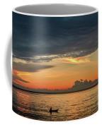 Fishing At Sunrise Coffee Mug