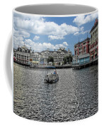 Fishing At The Boardwalk Before The Storm Coffee Mug