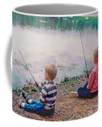 Fishing At Watkins Mill Coffee Mug