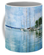 Fishing Bay Reflections Coffee Mug