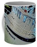 Fishing Boat Hdr Coffee Mug