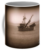Fishing Boat In Monterey Bay Coffee Mug