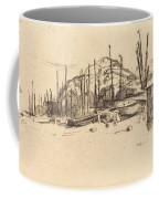 Fishing-boats, Hastings Coffee Mug