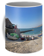 Fishing Boats In Sennen Cove Coffee Mug