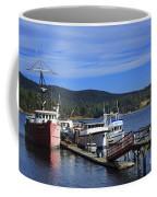 Fishing Boats In Sooke Coffee Mug