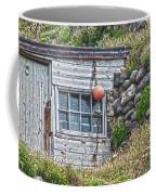 Fishing Huts Cape Cornwall Coffee Mug