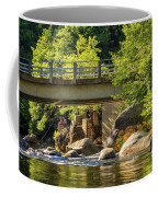 Fishing In Deer Creek Coffee Mug by James Eddy