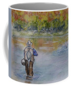 Fishing In Natures Beauty Coffee Mug