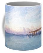 Fishing In Venice, Florida II Coffee Mug