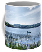 Fishing On Lake Carmi Coffee Mug