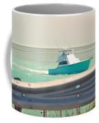 Fishing On The Sea  Coffee Mug