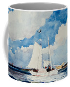 Fishing Schooner In Nassau Coffee Mug