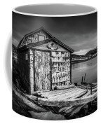 Fishing Shack And Wharf In Norris Point, Newfoundland Coffee Mug