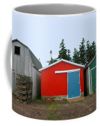 Fishing Shacks  Prince Edward Island  Canada Coffee Mug