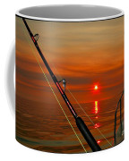 Fishing The Midnight Sun Coffee Mug