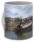 Fishing Trawler Wy 485 At Whitby Coffee Mug