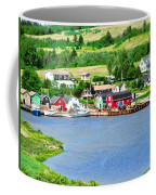 Fishing Village In Prince Edward Island Coffee Mug